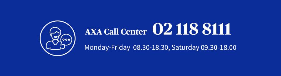 New AXA Call Center number
