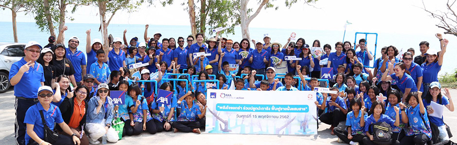 """AXA Hearts in Action: Volunteering for Coral Restoration in Samae San and the Revival of the Coastal Ecosystems"""
