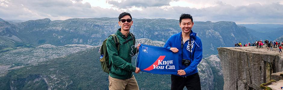 """เคล็ดลับการถ่ายภาพในสไตล์อินฟลูเอนเซอร์ท่องเที่ยวชื่อดัง ภายใต้แนวคิด """"Know You Can"""" โดยแอกซ่าประกันภัย"""